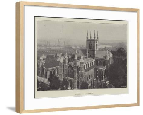 Rochester Cathedral--Framed Art Print