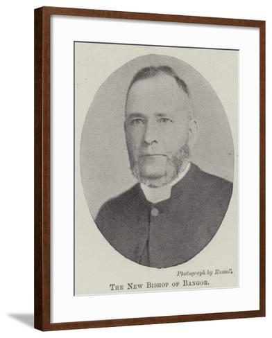 The New Bishop of Bangor--Framed Art Print