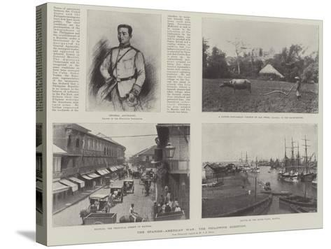 The Spanish-American War, the Philippine Question--Stretched Canvas Print