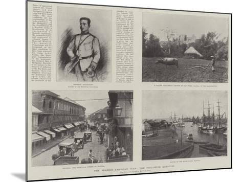 The Spanish-American War, the Philippine Question--Mounted Giclee Print
