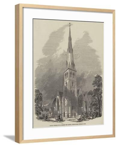 District Church of St Stephen the Martyr, Avenue-Road, Portland Town--Framed Art Print