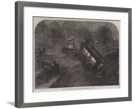 The Fatal Omnibus Accident at Dublin, on Saturday, the 6th Inst--Framed Art Print