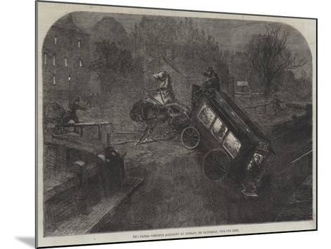 The Fatal Omnibus Accident at Dublin, on Saturday, the 6th Inst--Mounted Giclee Print
