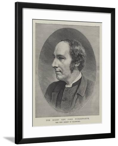 The Right Reverend John Wordsworth, the New Bishop of Salisbury--Framed Art Print