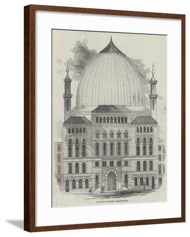 The Royal Panopticon of Science and Art, Leicester-Square--Framed Art Print