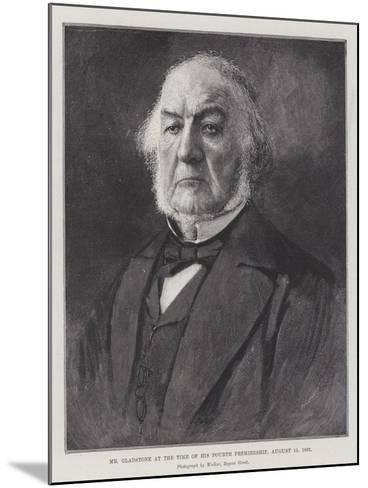 Mr Gladstone at the Time of His Fourth Premiership, 15 August 1892--Mounted Giclee Print