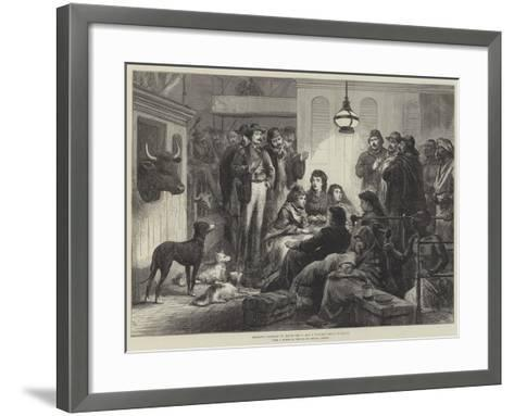 Operatic Company on Board the P and O Steamer Going to Egypt--Framed Art Print