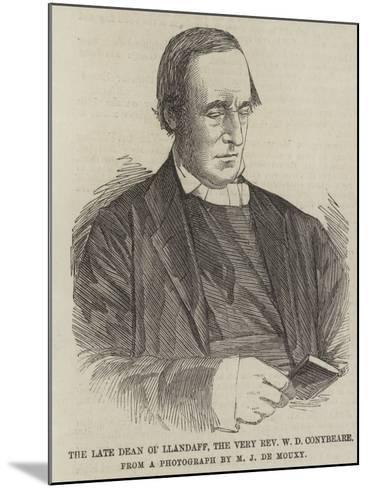 The Late Dean of Llandaff, the Very Reverend W D Conybeare--Mounted Giclee Print