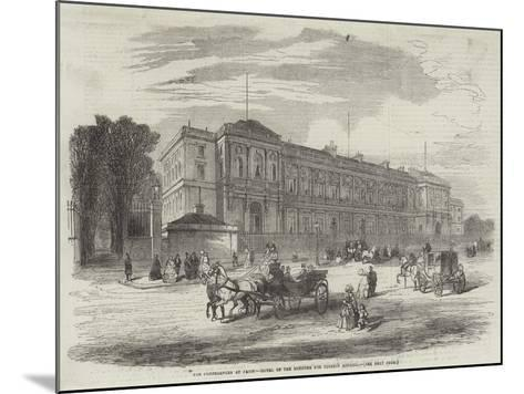 The Conferences at Paris, Hotel of the Minister for Foreign Affairs--Mounted Giclee Print
