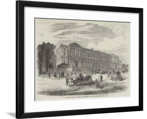 The Conferences at Paris, Hotel of the Minister for Foreign Affairs--Framed Art Print