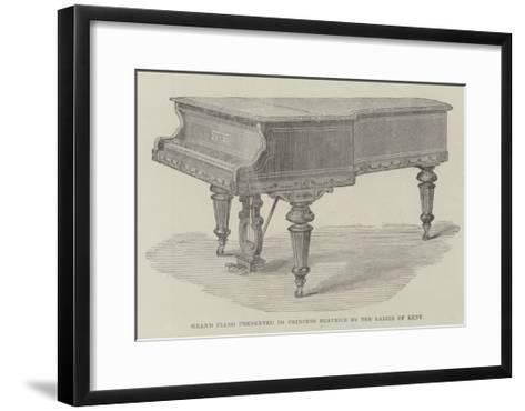 Grand Piano Presented to Princess Beatrice by the Ladies of Kent--Framed Art Print