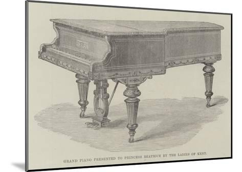 Grand Piano Presented to Princess Beatrice by the Ladies of Kent--Mounted Giclee Print