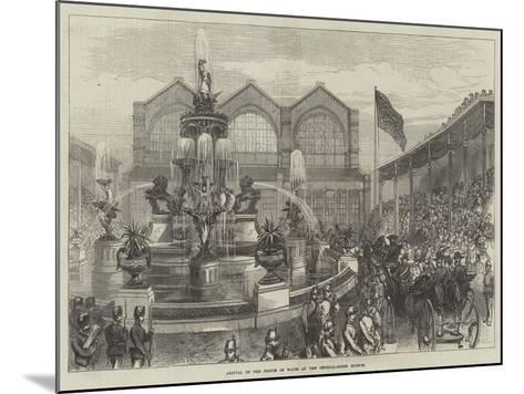 Arrival of the Prince of Wales at the Bethnal-Green Museum--Mounted Giclee Print