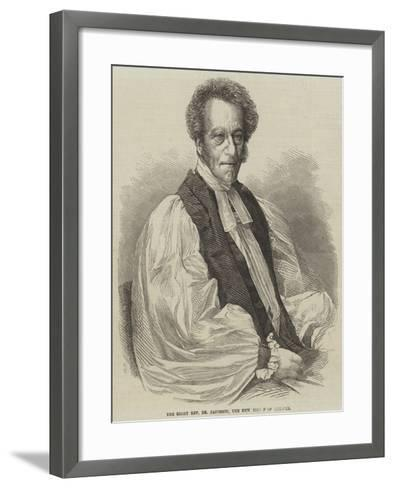 The Right Reverend Dr Jacobson, the New Bishop of Chester--Framed Art Print
