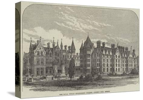 The Royal Indian Engineering College, Cooper's Hill, Egham--Stretched Canvas Print