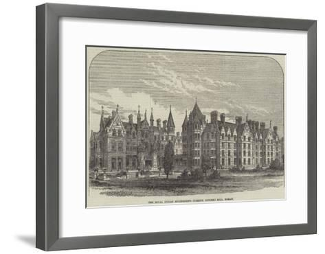The Royal Indian Engineering College, Cooper's Hill, Egham--Framed Art Print
