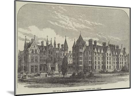 The Royal Indian Engineering College, Cooper's Hill, Egham--Mounted Giclee Print