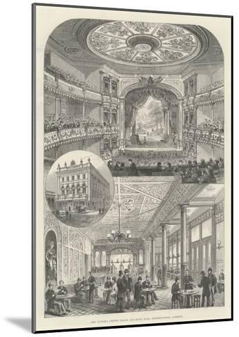The Victoria Coffee Palace and Music Hall, Waterloo-Road, Lambeth--Mounted Giclee Print