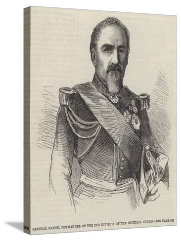 General Camou, Commander of the 2nd Division of the Imperial Guard--Stretched Canvas Print