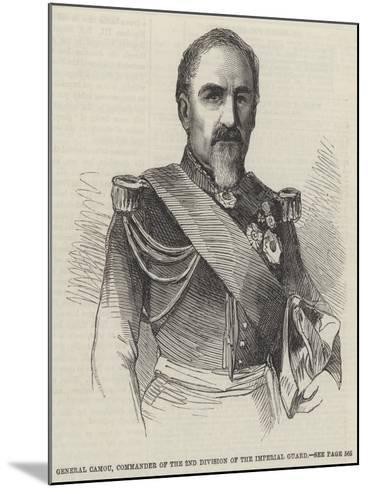 General Camou, Commander of the 2nd Division of the Imperial Guard--Mounted Giclee Print