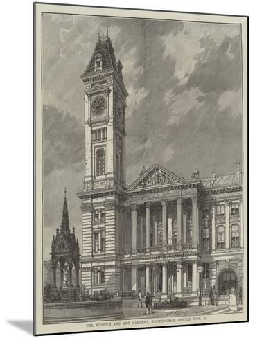 The Museum and Art Gallery, Birmingham, Opened 27 November--Mounted Giclee Print