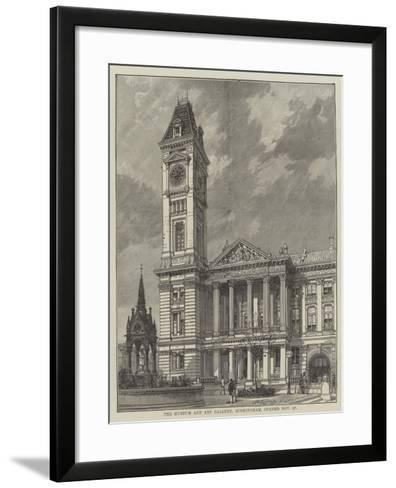 The Museum and Art Gallery, Birmingham, Opened 27 November--Framed Art Print