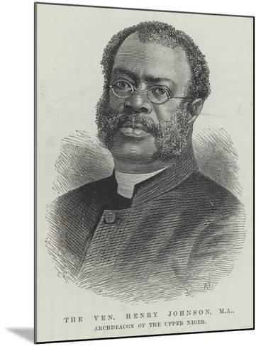 The Venerable Henry Johnson, Ma, Archdeacon of the Upper Niger--Mounted Giclee Print