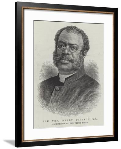 The Venerable Henry Johnson, Ma, Archdeacon of the Upper Niger--Framed Art Print