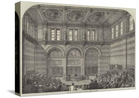 The Lecture Theatre, London University, Burlington Gardens--Stretched Canvas Print