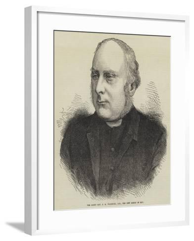 The Right Reverend J R Woodford, Dd, the New Bishop of Ely--Framed Art Print