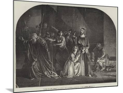 Peter Denying Christ, Exhibition of the National Institution--Mounted Giclee Print