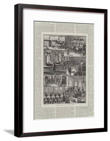 Advertisement, J S Fry and Sons' Cocoa and Chocolate Works, Bristol--Framed Art Print