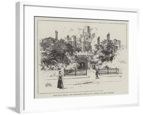 Holloway Prison, the Temporary Home of Dr Jameson and His Officers--Framed Art Print