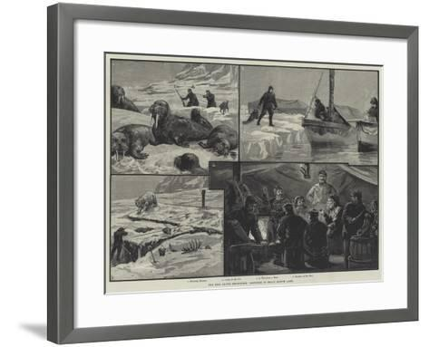 The Eira Arctic Expedition, Sketches in Franz Joseph Land--Framed Art Print