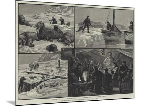 The Eira Arctic Expedition, Sketches in Franz Joseph Land--Mounted Giclee Print