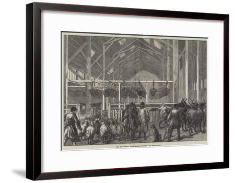 The New Foreign Cattle Market, Deptford, the Central Shed--Framed Art Print