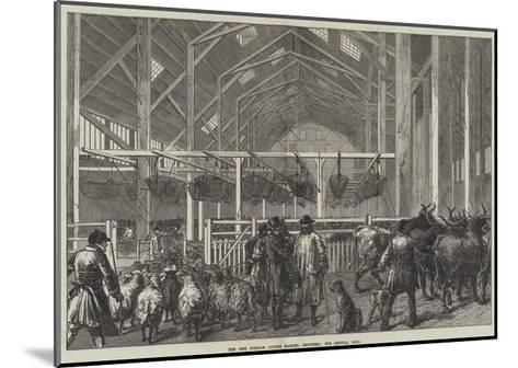 The New Foreign Cattle Market, Deptford, the Central Shed--Mounted Giclee Print