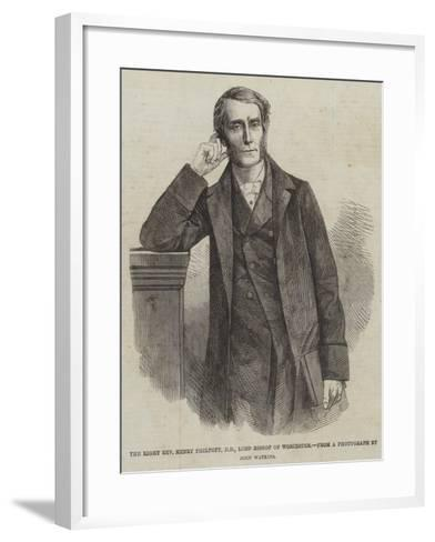 The Right Reverend Henry Philpott, Lord Bishop of Worcester--Framed Art Print