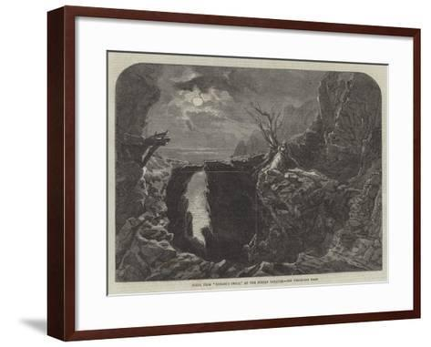 Scene from Nobody's Child, at the Surrey Theatre--Framed Art Print
