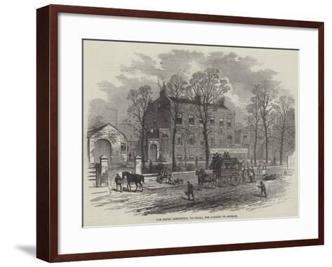 The Brown Institution, Vauxhall, for Diseases of Animals--Framed Art Print