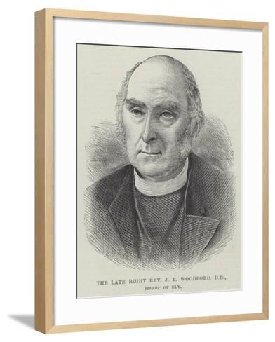The Late Right Reverend J R Woodford, Dd, Bishop of Ely--Framed Art Print
