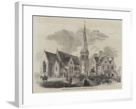 District Church of St Mark, Wray Park, Reigate--Framed Art Print