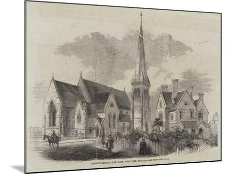 District Church of St Mark, Wray Park, Reigate--Mounted Giclee Print