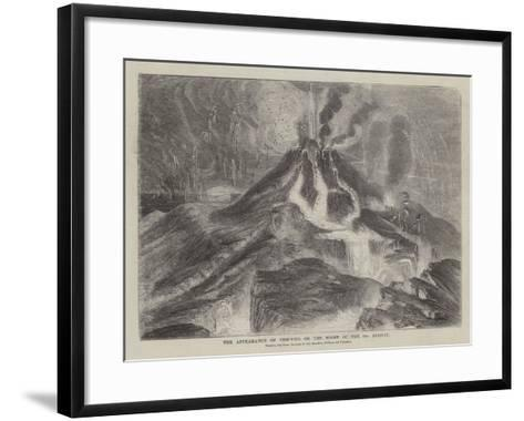 The Appearance of Vesuvius on the Night of the 23 August--Framed Art Print