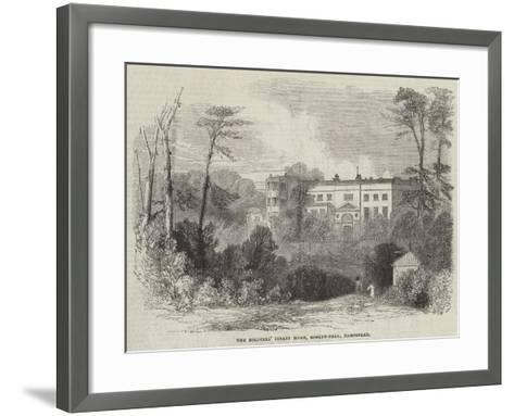 The Soldiers' Infant Home, Roslyn-Park, Hampstead--Framed Art Print