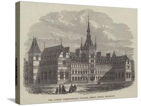 The London International College, Spring Grove, Hounslow--Stretched Canvas Print