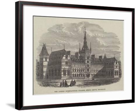 The London International College, Spring Grove, Hounslow--Framed Art Print