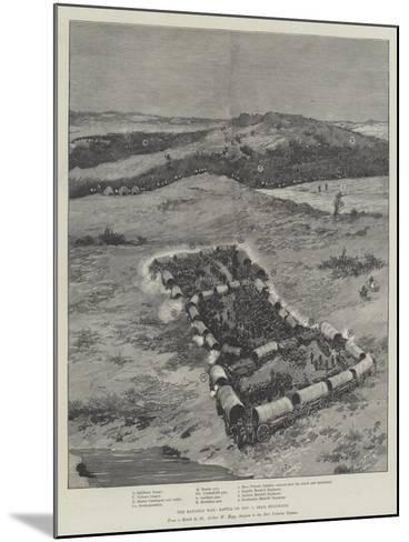 The Matabili War, Battle on 1 November, Near Buluwayo--Mounted Giclee Print