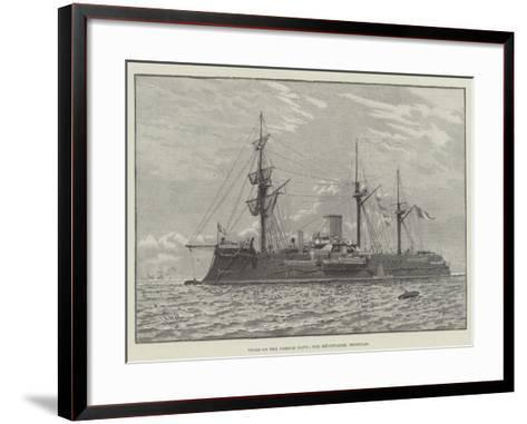 Types of the French Navy, the Redoutable, Ironclad--Framed Art Print
