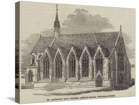 St Andrew's New Church, Ashley-Place, Victoria-Street--Stretched Canvas Print